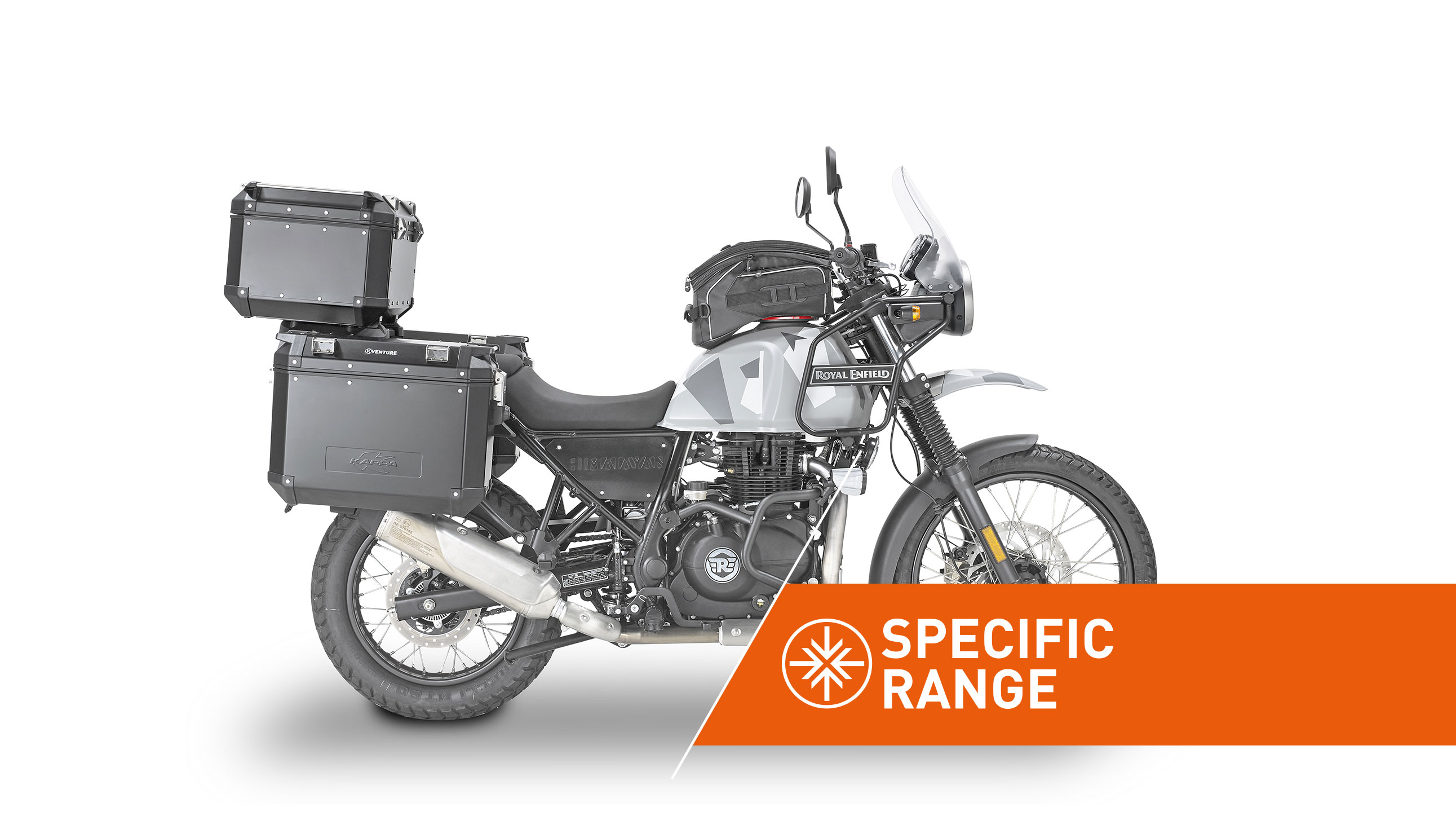 Linea di accessori specifica per ROYALENFIELD HIMALAYAN